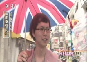 フジテレビ『とくダネ!』出演(2012)
