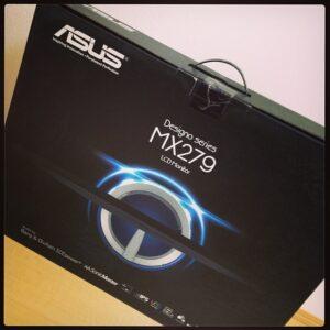 ASUS27インチ液晶ディスプレイモニターMX279HRがオシャレで素敵MAX