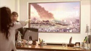 【こりゃスゴイ!!】LGモニタの映像の美しさを試す実験が立ち悪MAX
