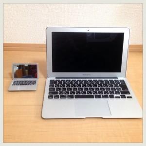 【世界最小】MacBook Airならぬ「MirrorBook Air」ミラー比較-04