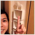 【100均インテリア】玄関に小物収納棚をつけてみMAX(ダイソー編)