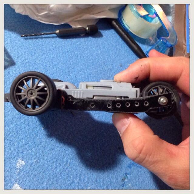 【ミニ四駆】リバーストライク『ウロボロス』を作ってみMAX