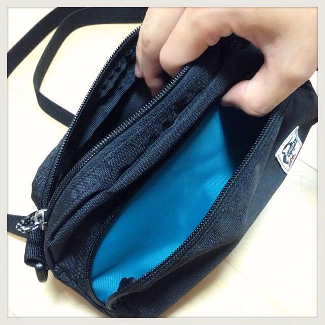 【ちょっとお出かけ用バッグ】チャムスのポーチがエコでMAX