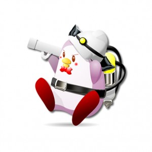 キャラクターデザイン実績【ペンギン】オリジナルイラスト