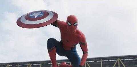 【夢のコラボ!】映画キャプテンアメリカに蜘蛛男が登場しMAX