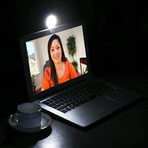 【自撮りだけじゃない!】COOWOOクリップ式LEDライトを検証しMAX