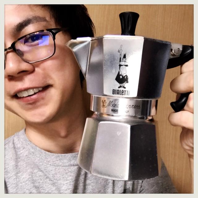 【おうちカフェ】アレッティ モカエキスプレスでエスプレッソを淹れMAX