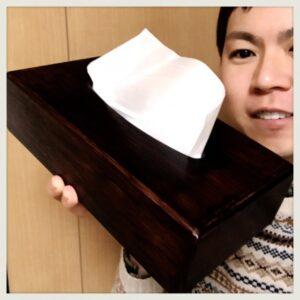 【IKEA】ティッシュケース(ボックス)を100均リメイク-DAISO編