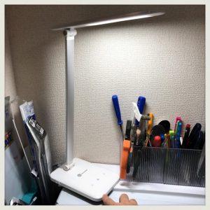 【米Amazonランキング1位】LEDディスクライト(電気スタンド)明るさ