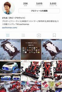 【ミニ四駆】Instagramフォロワー3600人突破!【感謝】