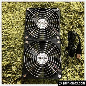 【ミニ四駆】PCファン(USB)と100均アイテムで集塵機を自作してみた。