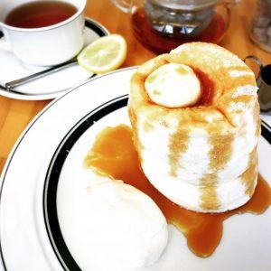 【自由が丘】カフェ&パンケーキgram限定20食プレミアムパンケーキ