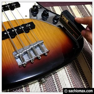 【バンドやろうぜ!】自宅練習にVOXベースギター用『アンプラグ2』