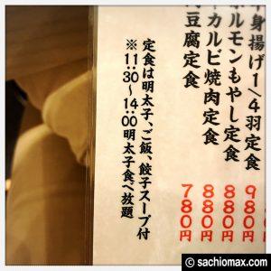 【西早稲田】ランチタイム明太子食べ放題『餃子酒場たっちゃん』感想