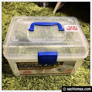 【ミニ四駆】サフ等の缶スプレーにDAISOストックBOXがちょうど良い☆