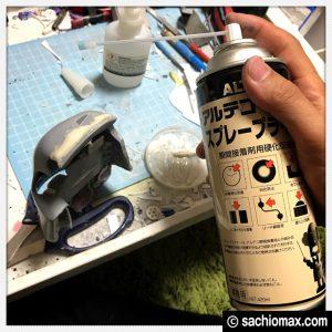 【ミニ四駆】瞬間接着パテの代用品(ベビーパウダー&中粘度接着剤)