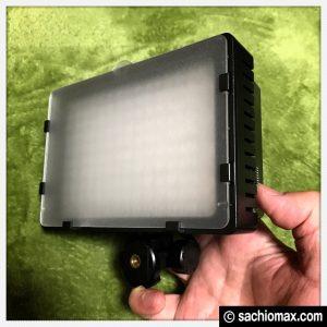 【コスパ高】LED160球ビデオライトが動画・写真撮影の照明に便利☆