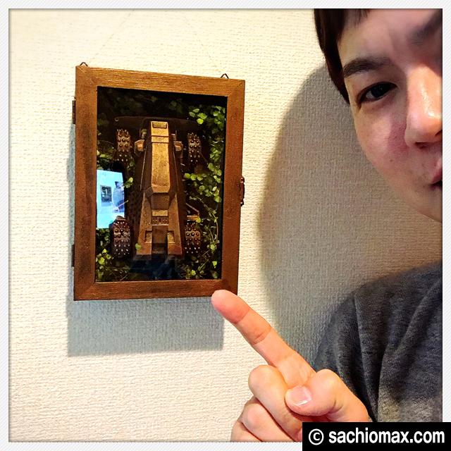 【ミニ四駆】思い出をアイアンペイントで飾る百均アート2【鉄四駆】00