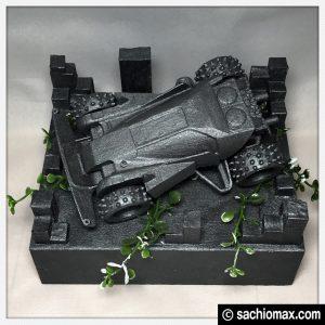 【ミニ四駆】思い出をアイアンペイントで飾る百均アート【鉄四駆】18