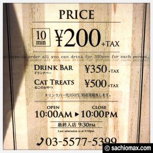 【秋葉原】10分から遊べる猫カフェ『MOCHA』に行ってみた(料金など)03