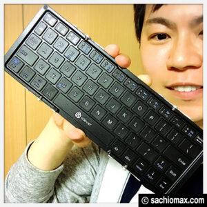 【iPad/iPhone】icleverワイヤレスキーボードの良いとこ・悪いとこ00