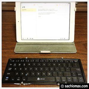 【iPad/iPhone】icleverワイヤレスキーボードの良いとこ・悪いとこ27