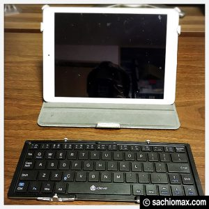 【iPad/iPhone】icleverワイヤレスキーボードの良いとこ・悪いとこ29