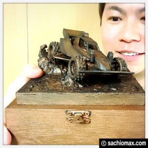 【ミニ四駆】ターナー色彩アイアンペイント立体彫刻【100均アート】00