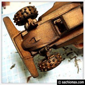 【ミニ四駆】ターナー色彩アイアンペイント立体彫刻【100均アート】09