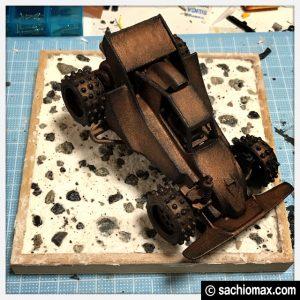 【ミニ四駆】ターナー色彩アイアンペイント立体彫刻【100均アート】31