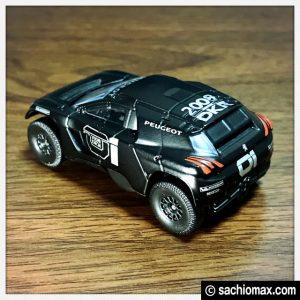 【ミニカー】プジョー2008 DKR Noire PseudoRB(1/64)通販ブログ05