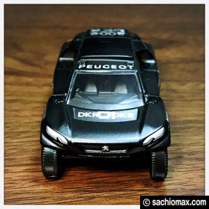 【ミニカー】プジョー2008 DKR Noire PseudoRB(1/64)通販ブログ10