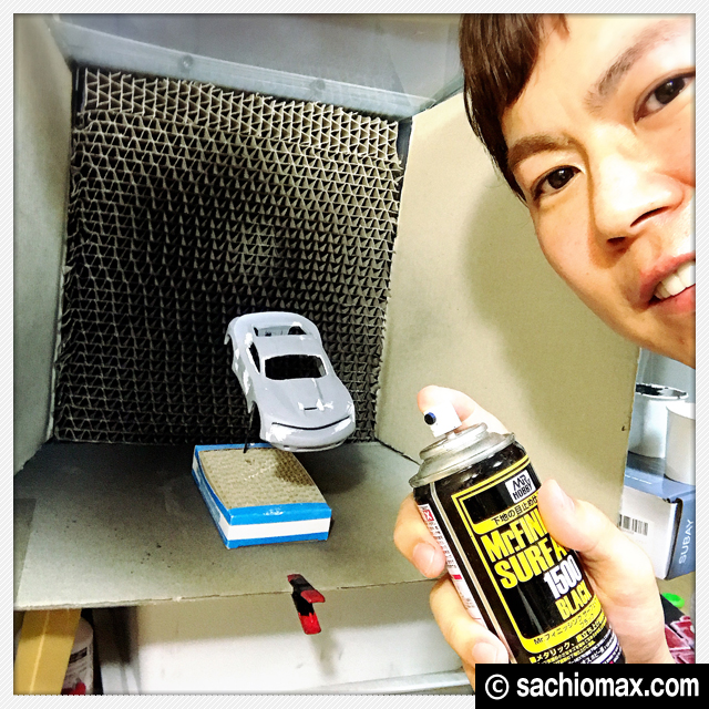 【ミニ四駆】ほぼ0円「自作」塗装ブースを改良しました【100均DIY】00