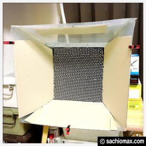 【ミニ四駆】ほぼ0円「自作」塗装ブースを改良しました【100均DIY】15
