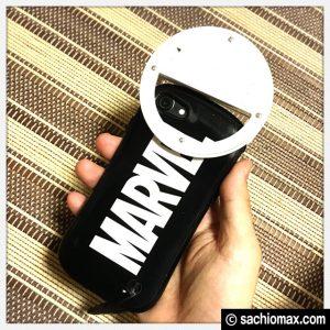 【自撮りライト】YESDA LEDリング(乾電池式)が良い感じ【399円】27