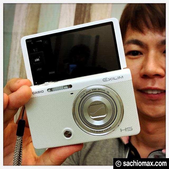 【自撮りができるデジカメ】カシオEXILIM EX-ZR70スマホ転送-口コミ00