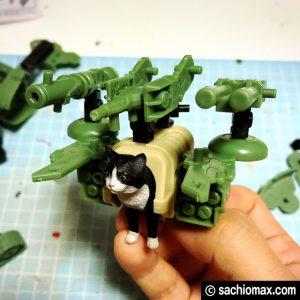 【てんこ盛り】「猫」+「武装」プラモデル「ねこぶそう」レビュー10