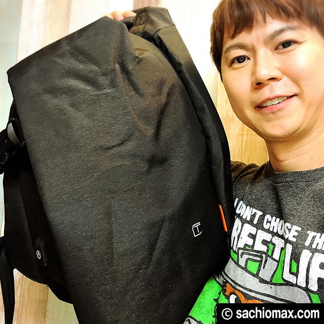 【ファッション】TANGCOOL(韓国製)PCバックパックがめっちゃ良い☆00