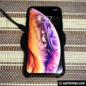 【iPhoneXS】置くだけ(ワイヤレス)充電器2タイプ使いつづけた結果05