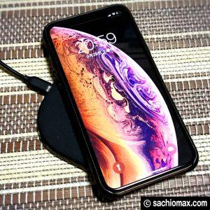 【iPhoneXS】置くだけ(ワイヤレス)充電器2タイプ使いつづけた結果07
