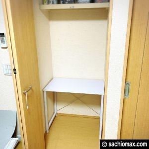 【ミニ四駆】クローゼットを作業スペースに改造してみた【工作部屋】05