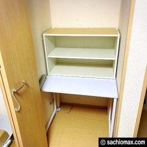 【ミニ四駆】クローゼットを作業スペースに改造してみた【工作部屋】08