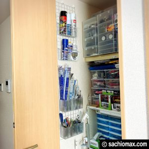 【ミニ四駆】クローゼットを作業スペースに改造してみた【工作部屋】13