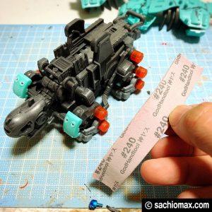 【ZOIDS】ゾイドワイルド ガノンタス ケヅメリクガメ風に塗装する方法05