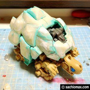 【ZOIDS】ゾイドワイルド ガノンタス ケヅメリクガメ風に塗装する方法11