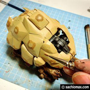 【ZOIDS】ゾイドワイルド ガノンタス ケヅメリクガメ風に塗装する方法15