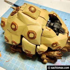 【ZOIDS】ゾイドワイルド ガノンタス ケヅメリクガメ風に塗装する方法16