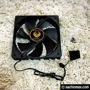【パソコンが熱い】デスクトップPC熱暴走対策☆熱を逃がす改造06
