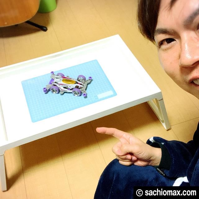 【工作】座って作業に「散らからない」IKEAベッドテーブルが超便利☆00