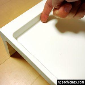 【工作】座って作業に「散らからない」IKEAベッドテーブルが超便利☆05